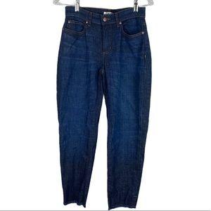 Eileen Fisher Frayed Hem Organic Cotton Jeans 2P